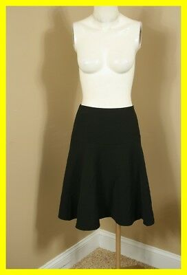 NEW TOMMY HILFIGER Black Flare Skirt 8 NWT 2526