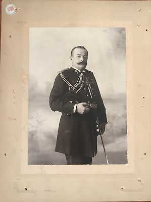 Vintage Davey's Photograph Of J. W. Pratt In Uniform