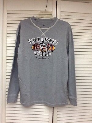 XL Disney Themed Long Sleeved T-shirt, Embroidered Design, EUC!