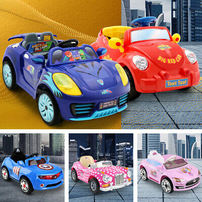 Disney Kids Ride On Car Licensed Electric Cars 3 Toys Battery Princess McQueen
