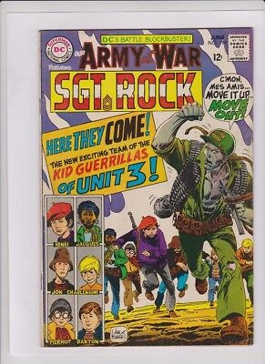 OUR ARMY AT WAR #194 Fine, Sgt Rock, Joe Kubert cover and art, Jack Abel art
