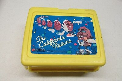 1987 The California Raisins Lunch Box