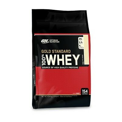 BRAND NEW! Optimum Nutrition 100% Whey Gold Standard Bag 10lbs WPI WPC Protein
