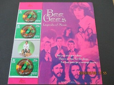 1999 Isle Of Man, Bee Gee's  Sheet, From Booklet Pane, U/mint, Free Postage
