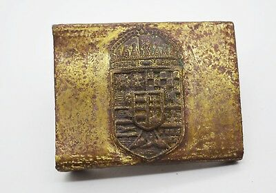 WW1 Hungary period soldier belt buckle