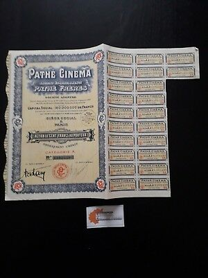 Action Pathe Cinema Action 100 Francs 1930 - P05