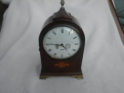 Small Bracket Clock by Committee English made  17 jewel movement 1yr warranty