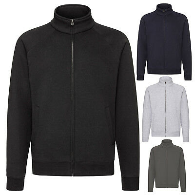 Fruit Of The Loom Mens Premium Full Zip Sweat Jacket Sse92