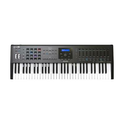 Arturia KeyLab MKII 61 Professional MIDI Controller and Software, Black #230631