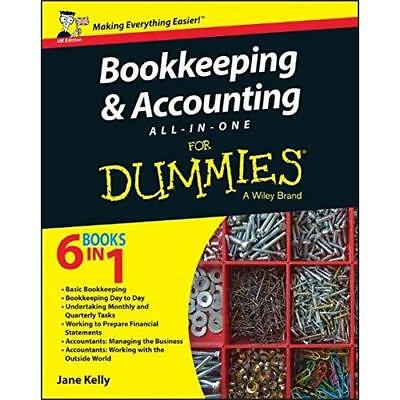 Bookkeeping and Accounting All–in–One For Dummies (UK Edition) Kelly, Jane E.