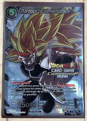 Dragon Ball Super Card Game Bardock totalement libéré VF P-067 PR