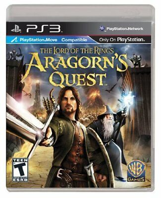 Lord Of Rings: Aragorns Quest (PlayStation 3)