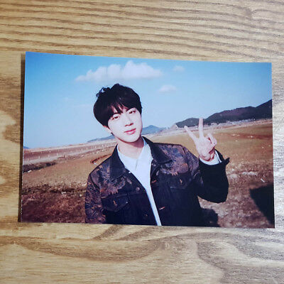 Jin Official Unreleased Live Photo 2018 BTS Exhibition Book Today Kpop Genuine