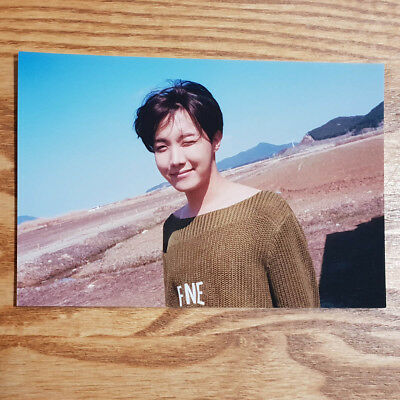 J Hope Official Unreleased Live Photo 2018 BTS Exhibition Book Today Kpop