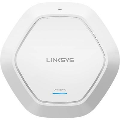 Linksys Business AC1200 WiFi Cloud Managed Access Point, 802.11AC, Poe, Remote C