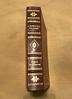 """""""A Farewell to Arms"""" by Ernest Hemingway Leather Bound EASTON PRESS Book"""