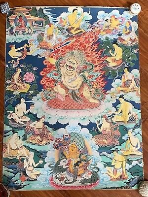20th C. Tibetan Thangka