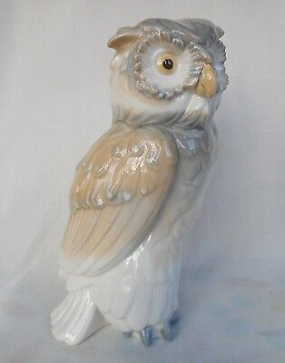 LLADRO/NAO Wise Old  Owl in Perfect Condition - 7 Inches Tall