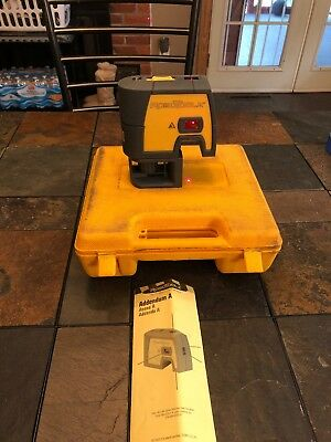 RoboToolz RT-7610-5 Beam Level, Plumb & Square Laser Class II Diode 635nm