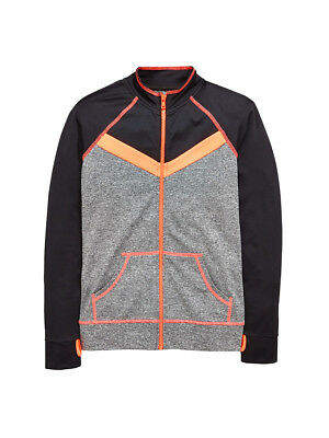 V by Very Sports Running Zipped Top in Multi Size 7-8 Years