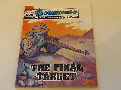 Commando War Comic Number 3644!,2003 Issue,v Good For Age,15 Years Old,super.