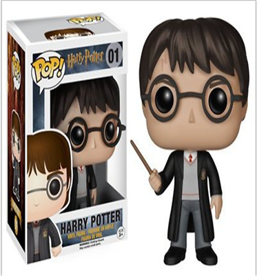 POP Harry Potter PVC Doll Toy Hand Office Ornaments