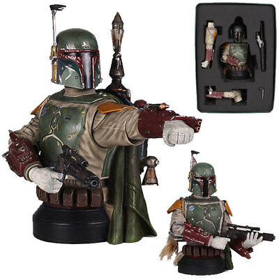 Sdcc 2013 Gentle Giant Star Wars Boba Fett Deluxe Bust Brand New Factory Sealed