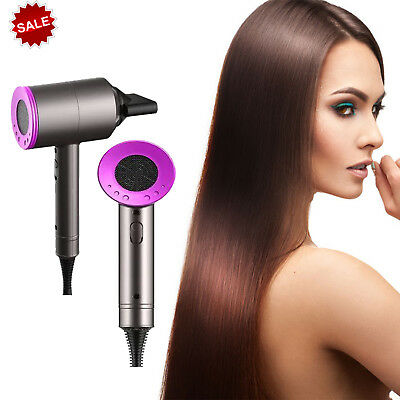 Professional Hair Dryer quickly drying performance  - Iron/Fuchsia
