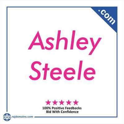AshleySteele.com - domain name for sale - ashley steele