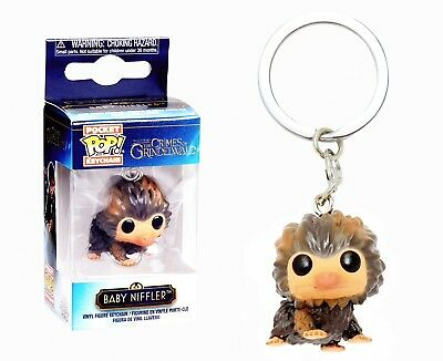Funko Pocket Pop Keychain: The Crimes of Grindelwald - Baby Niffler™ (Brown)