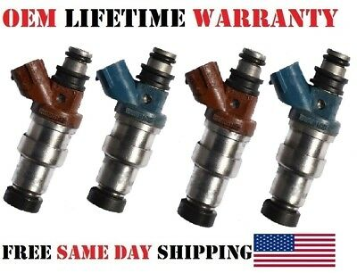*LIFETIME WARRANTY*  Genuine Denso Fuel Injector for Toyota Paseo Tercel 1.5L