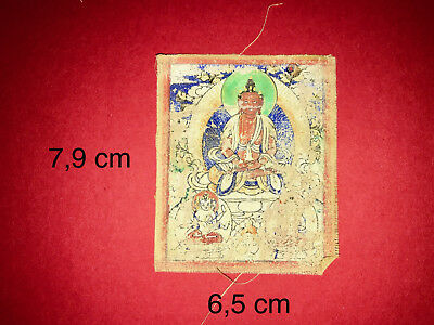 Altes Thangka: Red Tara