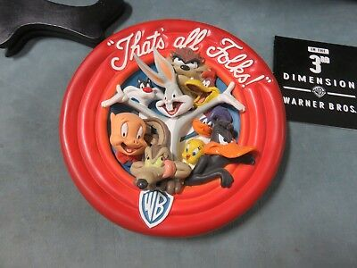 That's All Folks! 3-D Plate Warner Bros. Looney Tunes