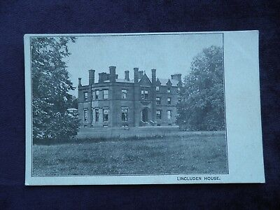 Old Scottish Postcard Lincluden House, Published By J. Maxwell & Son, Dumfries
