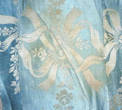 BEAUTIFUL RARE 18th CENTURY SILK FRAGMENT c1750s,  LYON OR SPITALFIELDS REF 166