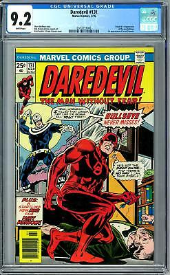 Daredevil #131 CGC 9.2 (W) Origin & 1st Appearance of Bullseye