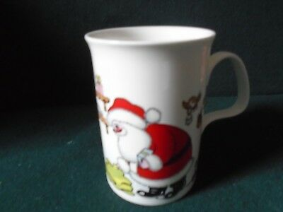 'Christmas Wish' mug designed  by Roy Kirkham