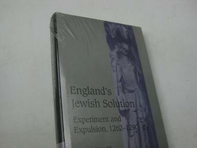 NEW COPY England's Jewish Solution: Experiment and Expulsion, 1262-1290 Mundill