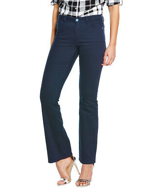 """V by Very Tall 1932 Harper Bootcut Jeans in Ink Size 14 Leg Length 33"""""""