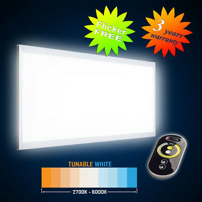 Led Hängepanel1195x595 54W (S) Tunable Blanc (2700-6000k) Flicker Gratuit