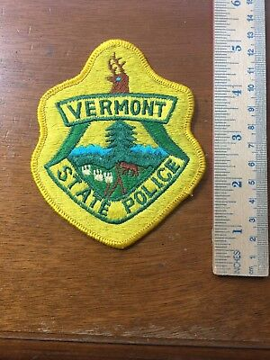 Vermont State Police Shoulder Patch