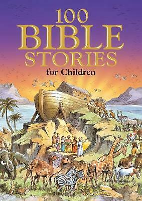 100 Bible Stories for Children by Jackie Andrews (English) Hardcover Book Free S