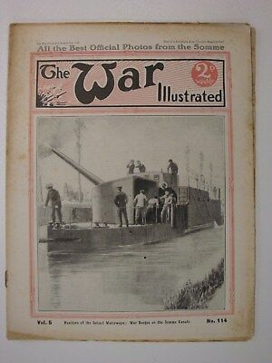The War Illustrated, Great War # 114 (French Ironclads, Zeppelin, Churchill WW1)