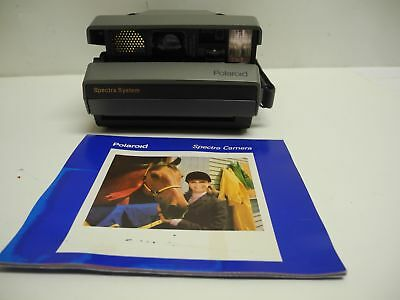 Polaroid Spectra System Camera Auto Focus Auto Flash with Manual Powers Up