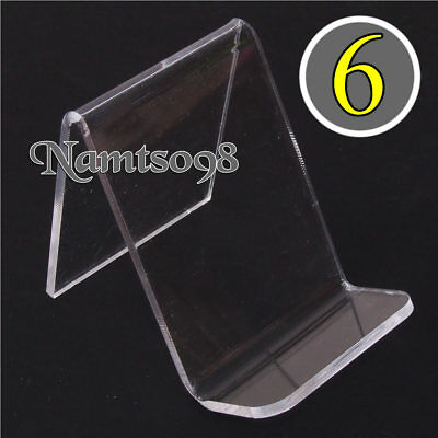 6-pack Easel Holder Rack Display Stand/artwork Photo Phone Accessories/Acrylic