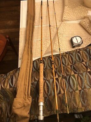 Rare Vintage Seymour Fly Rod From The UK - 9.6' Perfect Condition