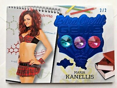 2018 Benchwarmer Hot For Teacher Maria Kanellis Extra Credit Gems Card /2