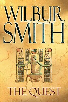 The Quest (Traveller's Hardback Edition) by Smith, Wilbur Book The Fast Free