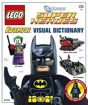 LEGO Batman Visual Dictionary LEGO DC Universe Super Her... by Lipkowitz, Daniel