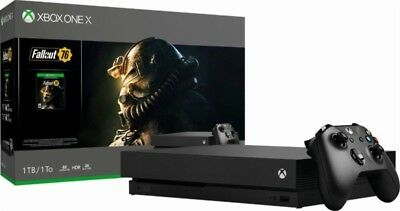 Xbox One X 1TB Fallout 76 Bundle  -  Digital Download of Fallout 76 included
